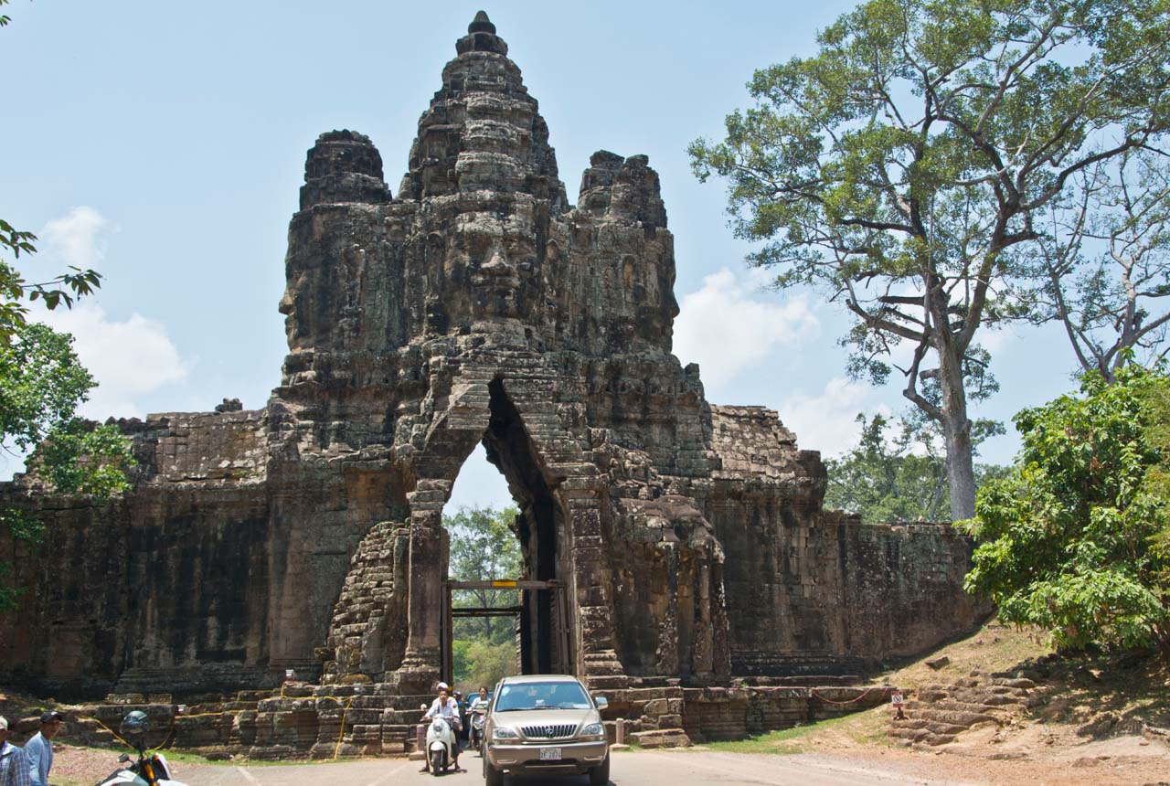Gate to Angkor Thom, Siem Reap