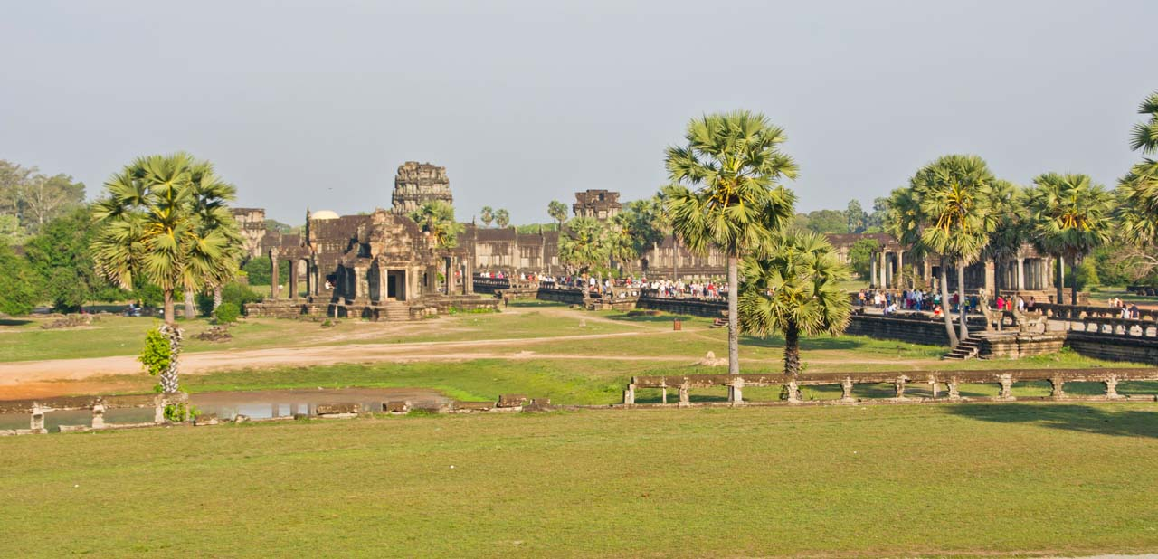 Grounds around Angkor Wat
