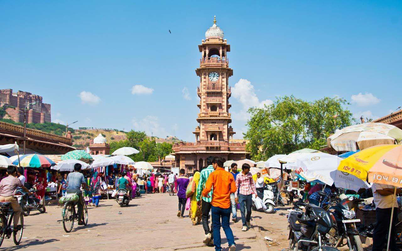 Sardar Market and Clock Tower Jodhpur