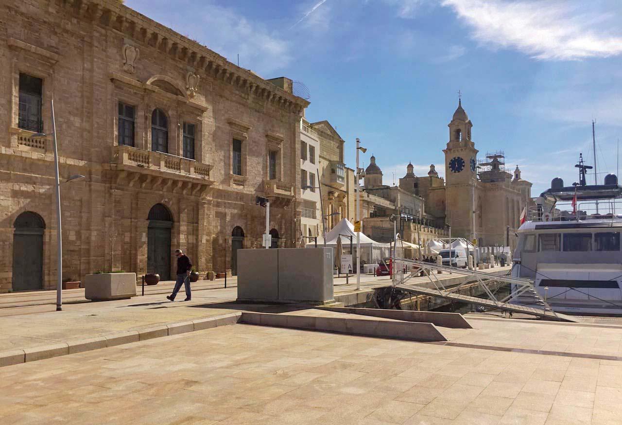 Three Cities Malta - Vittoriosa Birgu - marina