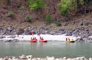 River Rafting in Ganga River