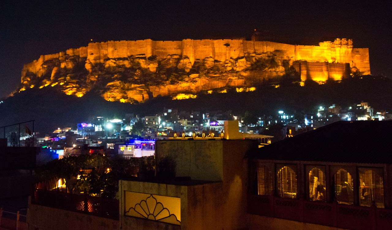 Mehrangarh Fort at Night_1
