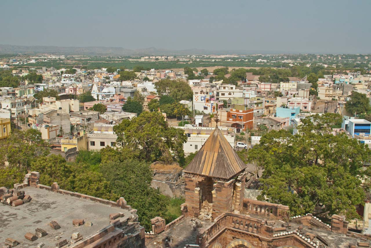 Overview of Bhuj from Prag Mahal