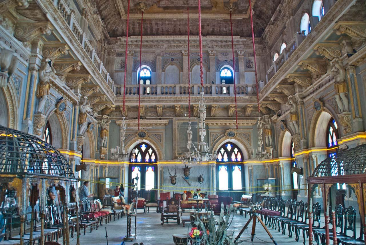 Main Hall of Prag Mahal Bhuj