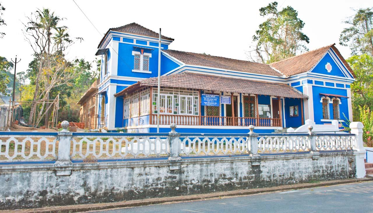 Divar Island Portuguese houses