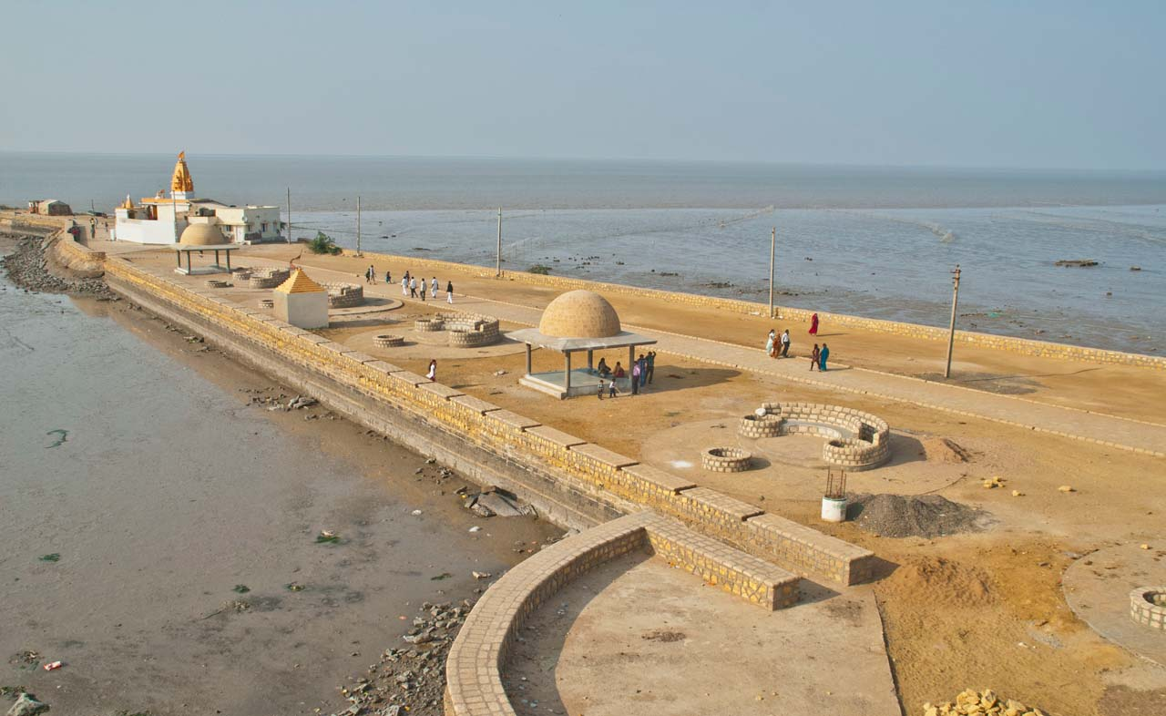 Koteshwar temple sea front