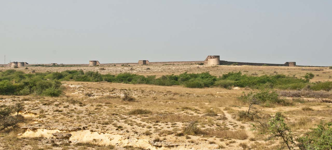 Lakhpat Fort Wall