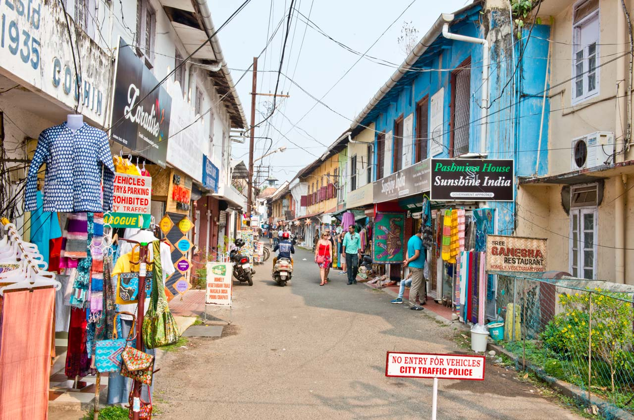 Walking tour of the Old city of Fort Kochi and Mattancherry