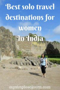 Best places for a female traveling solo in India