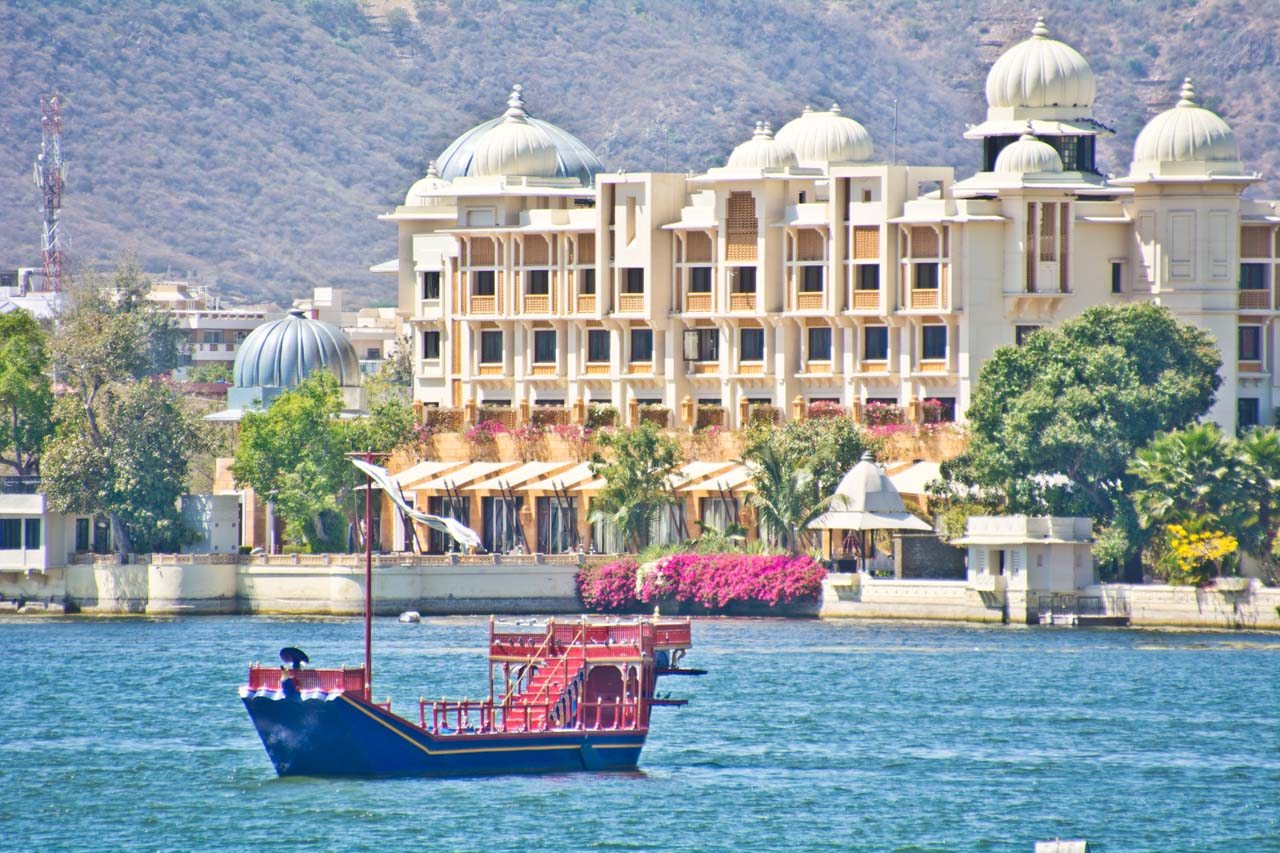 Boat in Lake Pichola Udaipur
