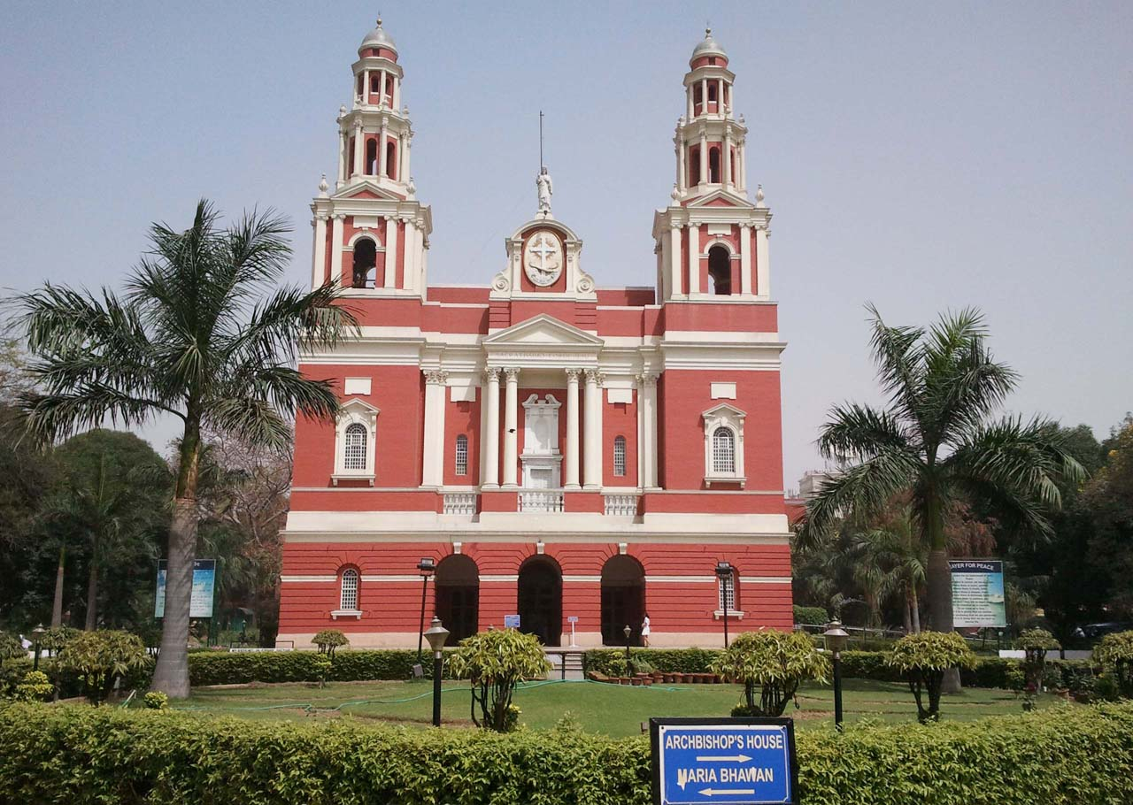 Sacred Heart Cathedral in New Delhi