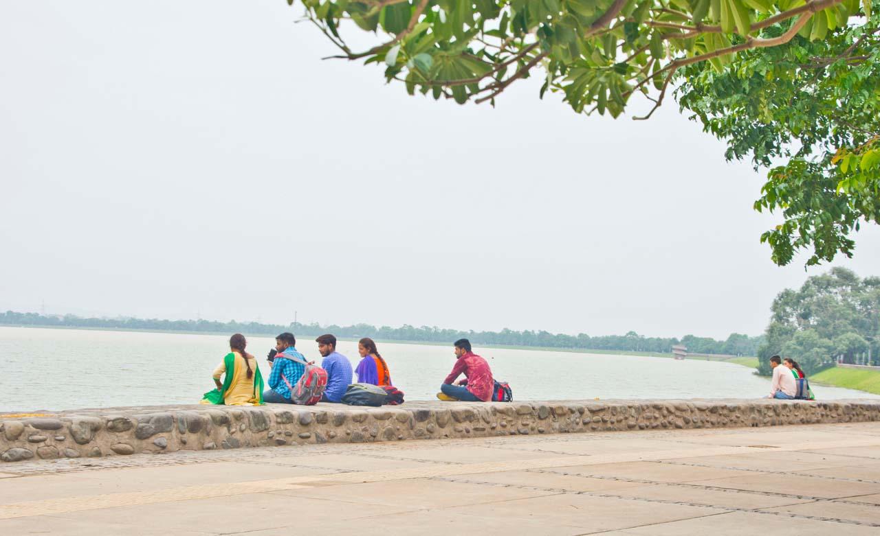 Sukhna lake people