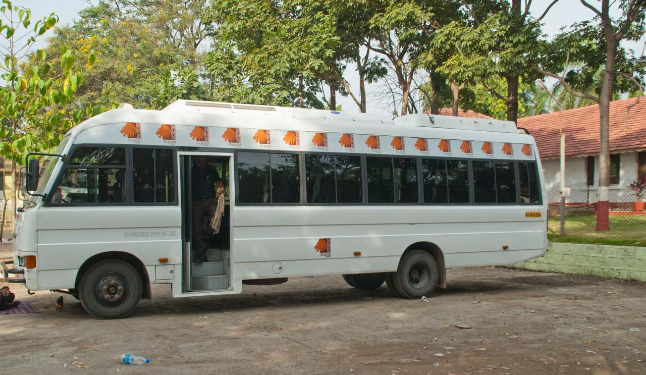 Bus for Devalia forest Park
