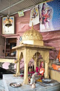 Garadia Mahadev temple inside