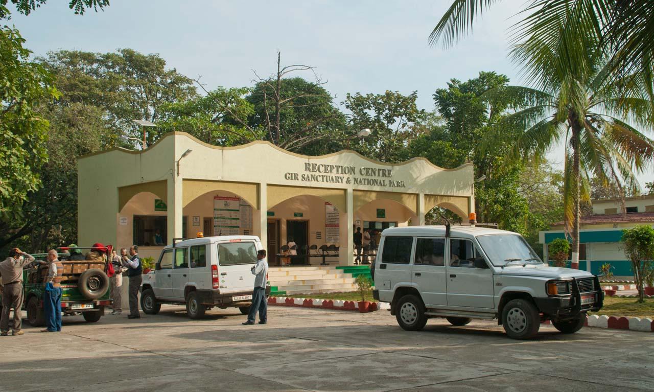 Gir national park booking office