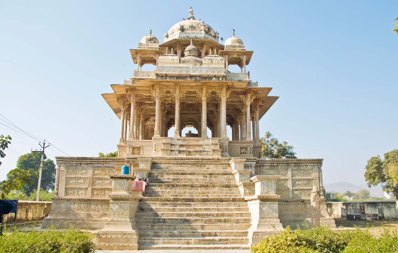 84 Pillars Cenotaph or Chaurasi Khambon ki Chhatri