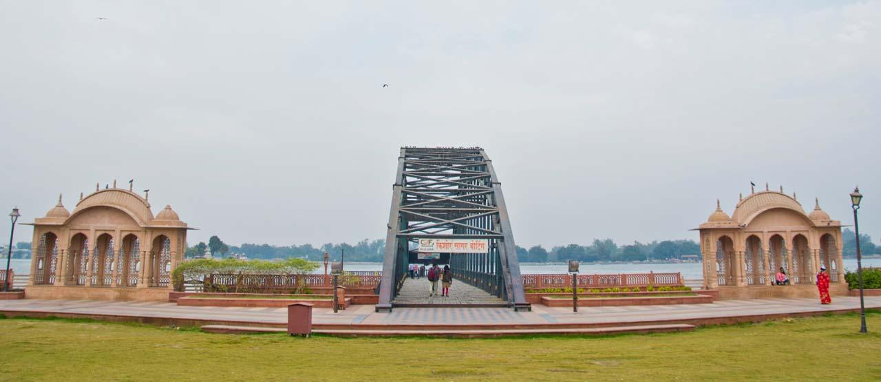 Boating point Kishore sagar in Seven wonders Kota