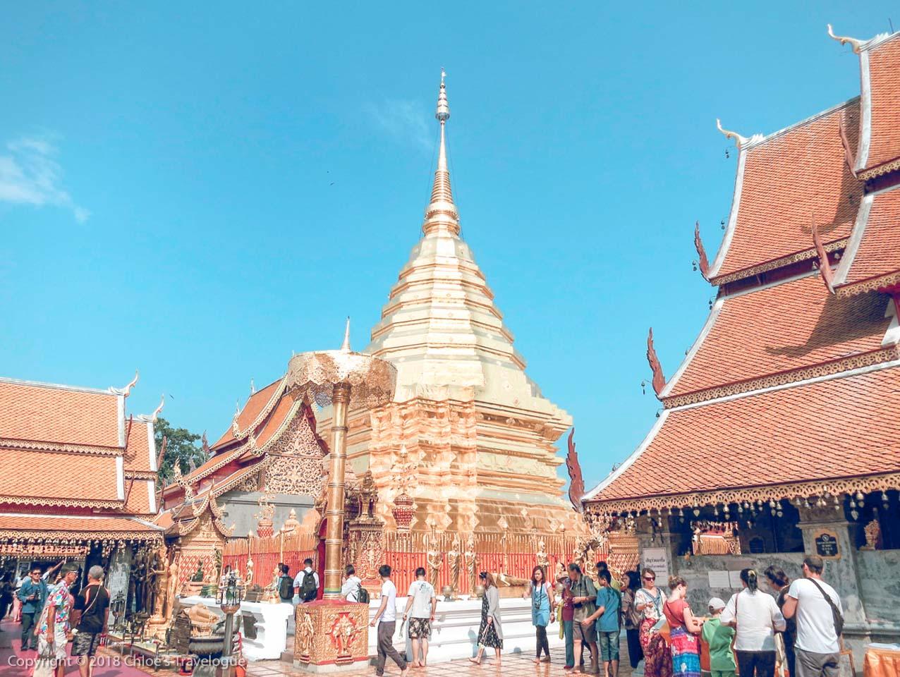 Chiang Mai Wat Prat Doi Suthep