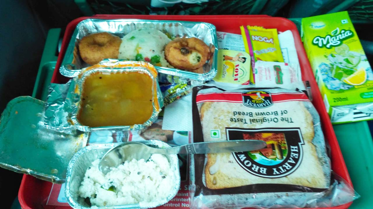 Food in Indian trains
