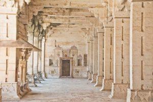 Inside of Taragarh Fort