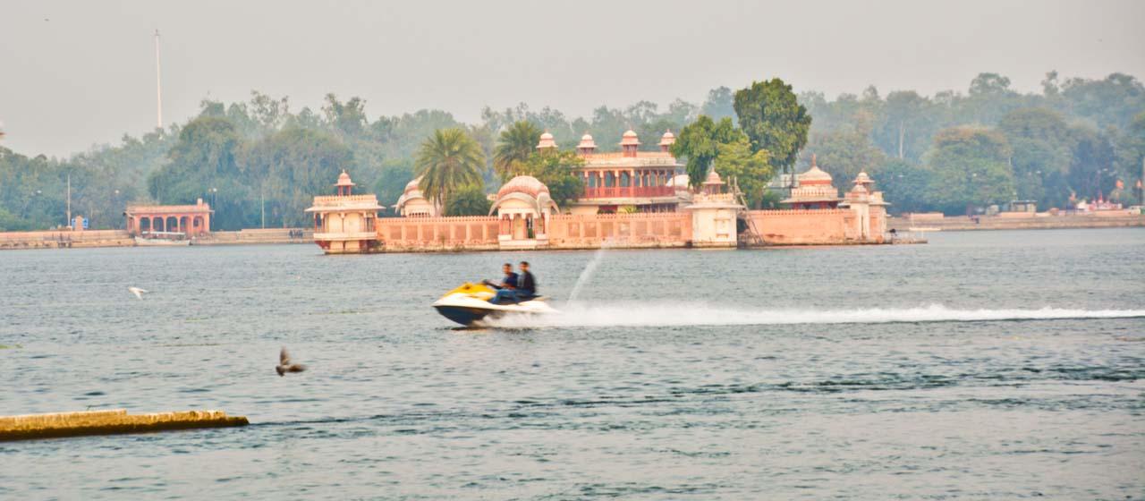 Jet ski in Kishore sagar