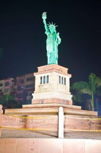 Statue of Liberty at Seven wonder Park kota