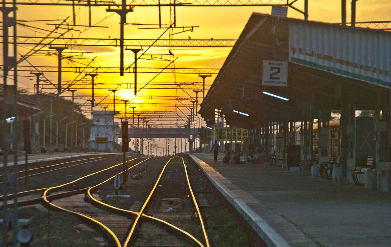 Indian railways track