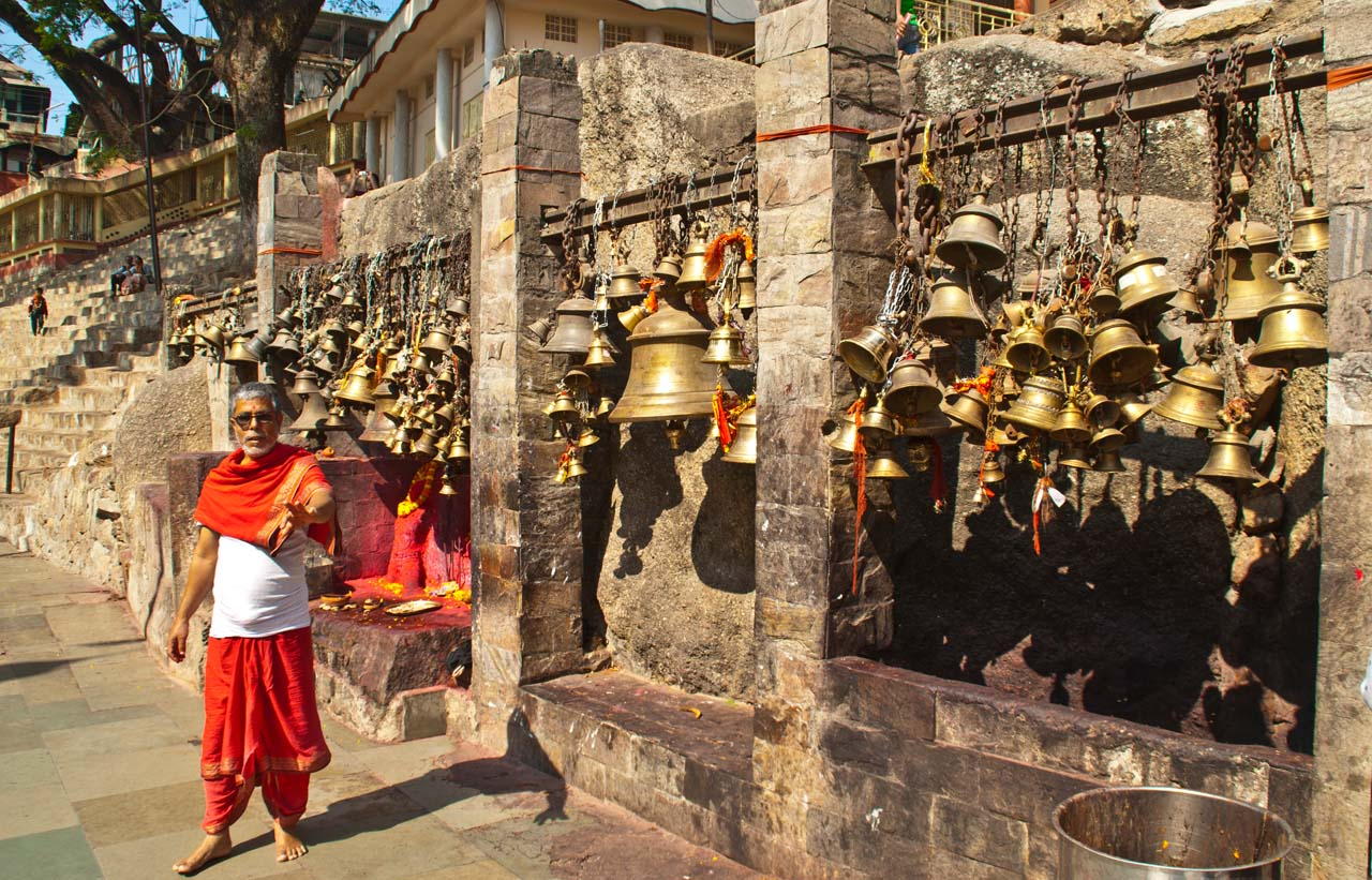 Bells in Kamakhaya temple