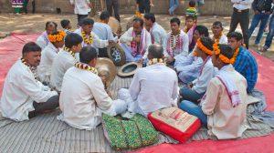 Musician at Hayagriva Madhava Temple Hajo