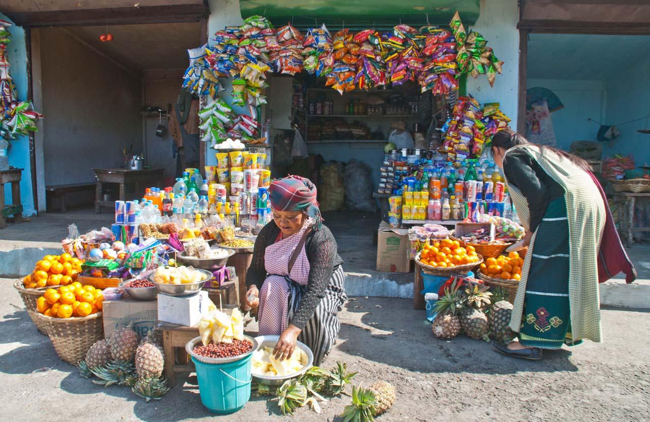 Shop at Shillong peak
