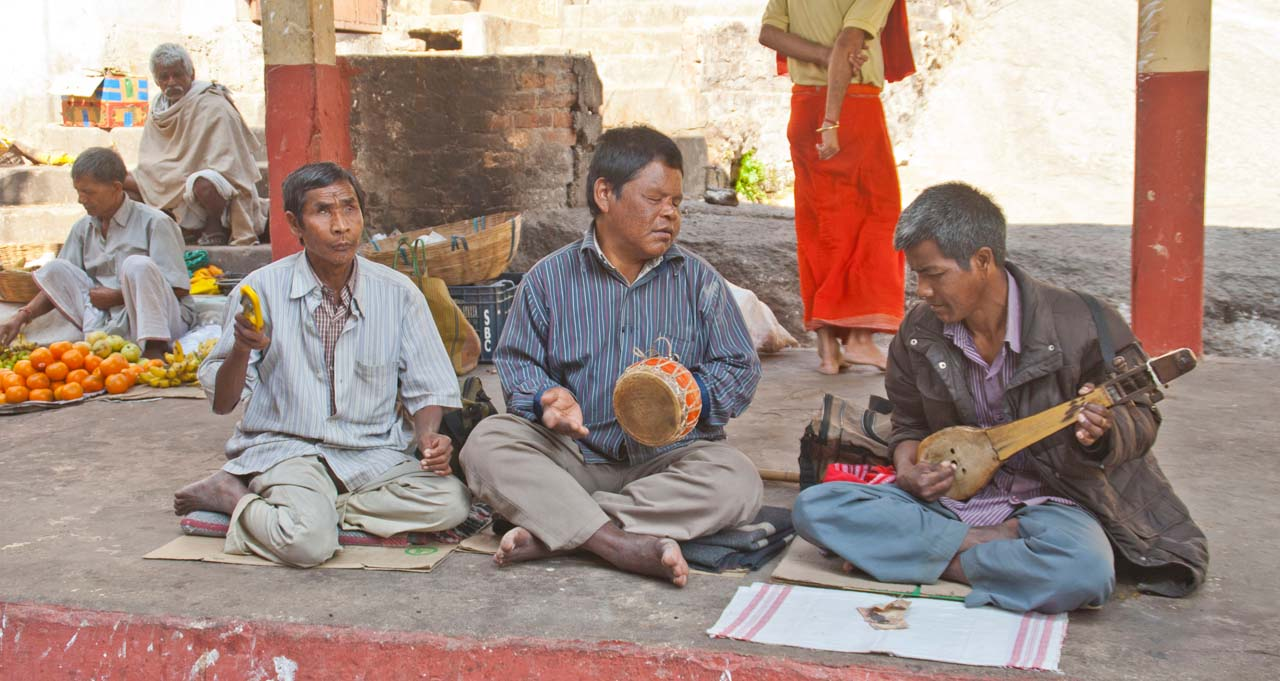 Singers on the way to Kamakhaya temple Guwahati