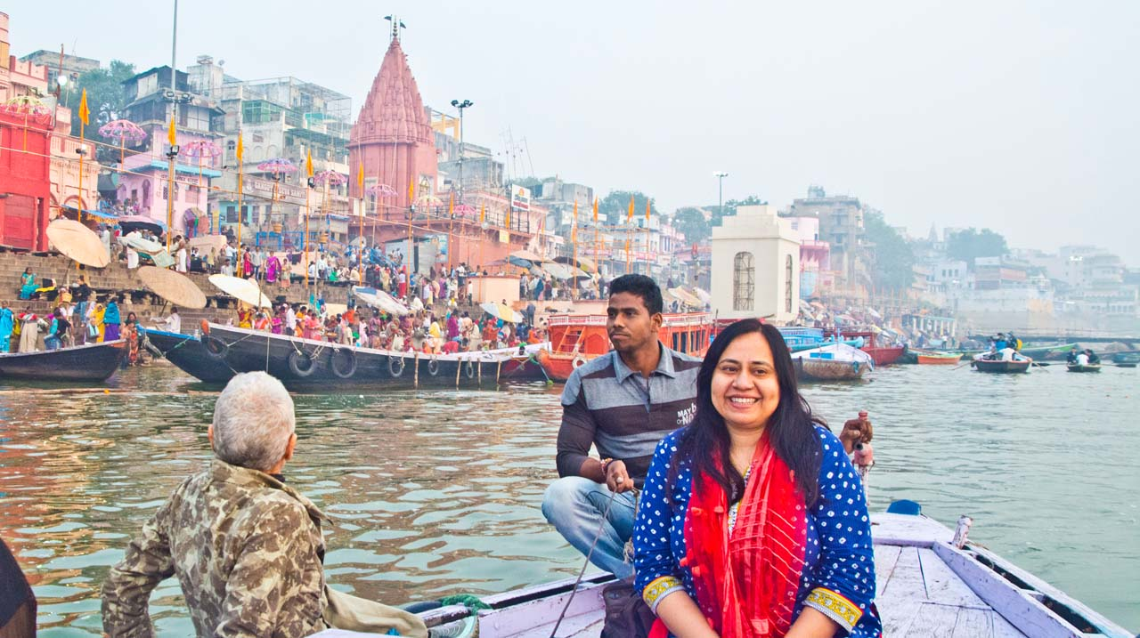 What I wore in Varanasi