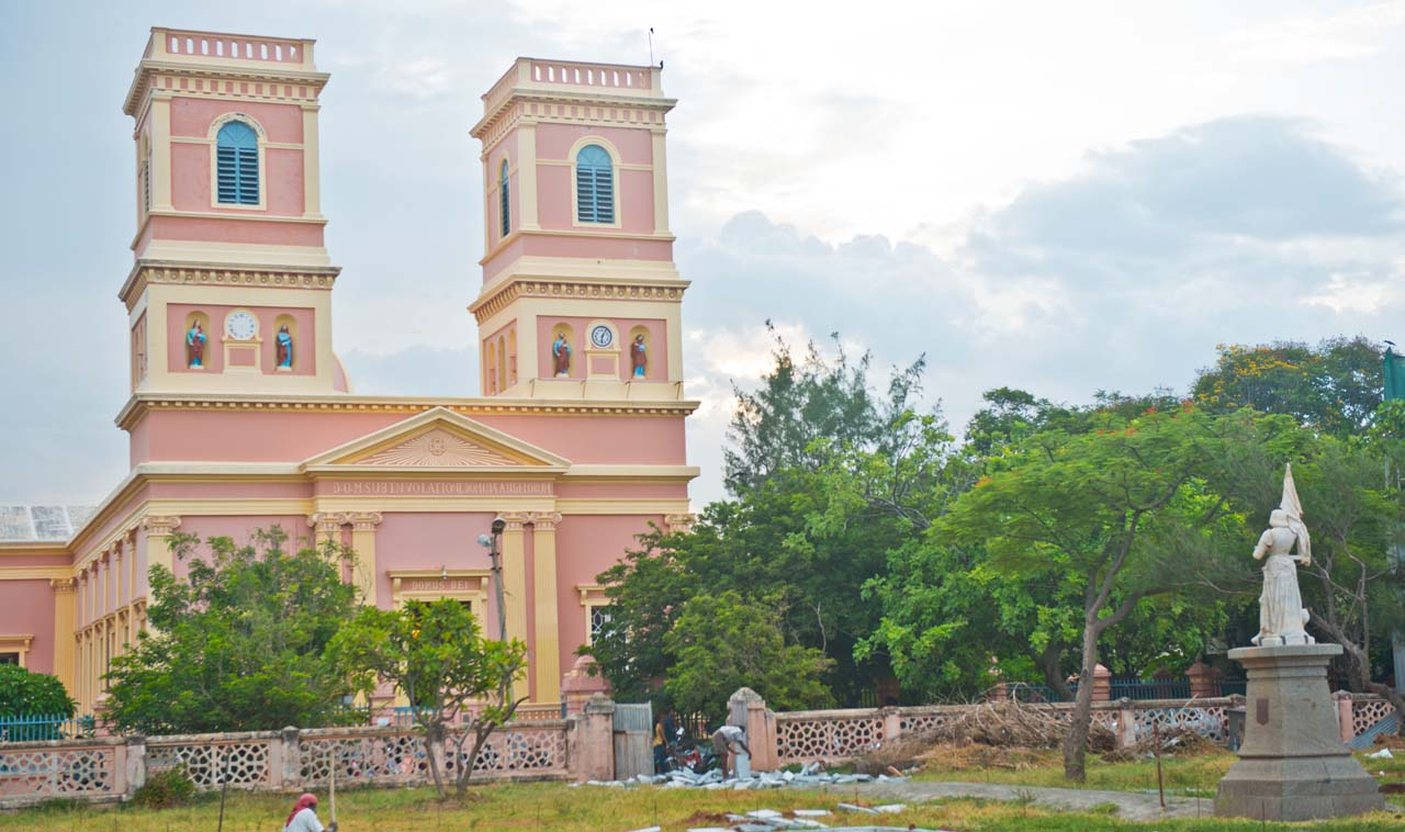 Our Lady of Angels Church Pondicherry