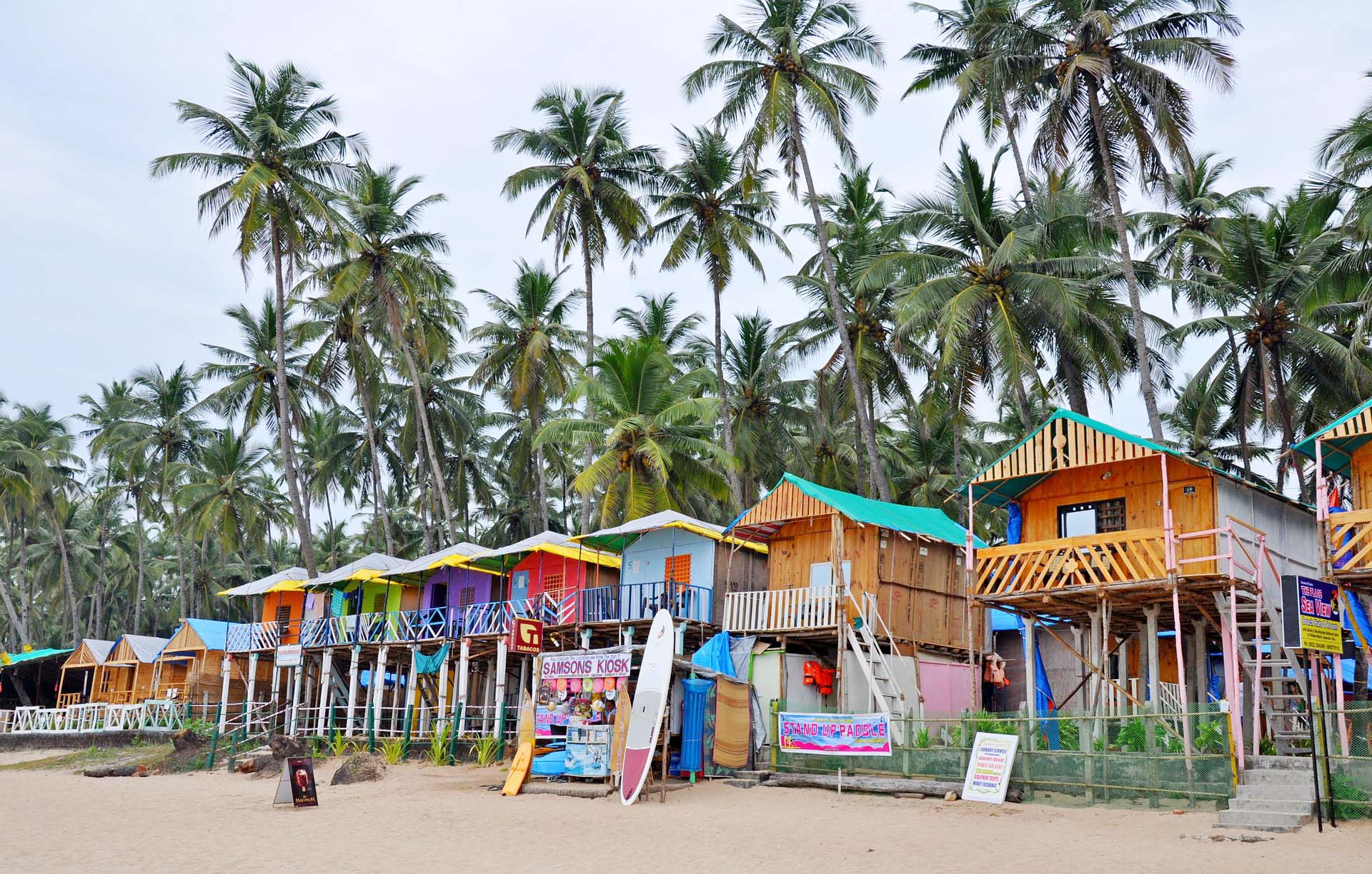 North Goa or South Goa – Best beaches in Goa & Best time to visit