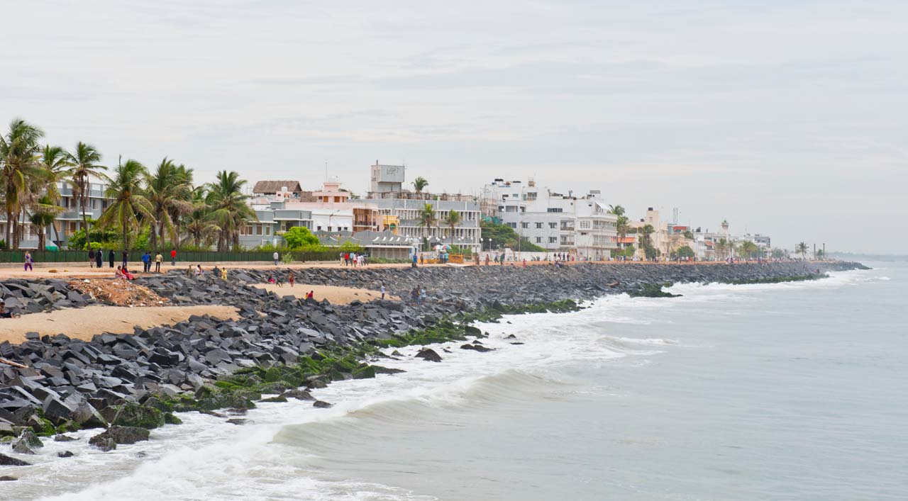 Promenade Beach overview