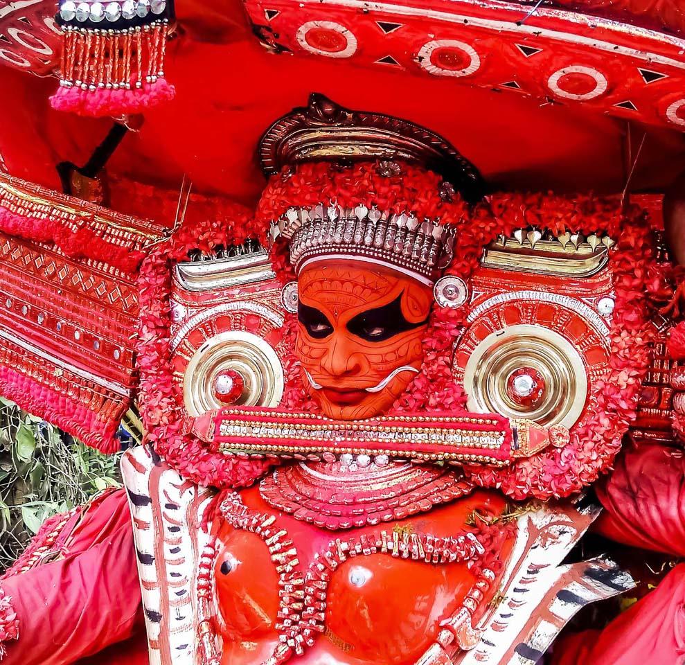 Theyyam in Kerala