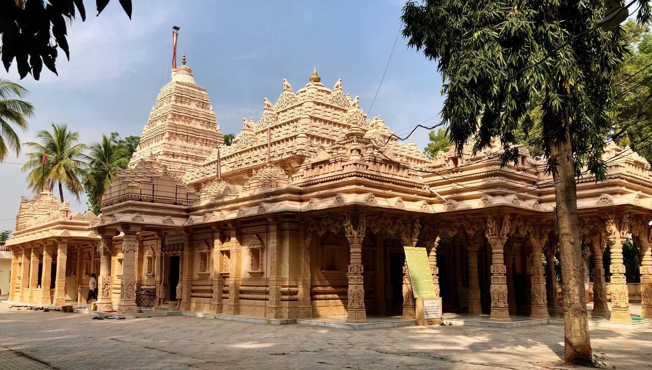 Kulpakji temple near Hyderabad