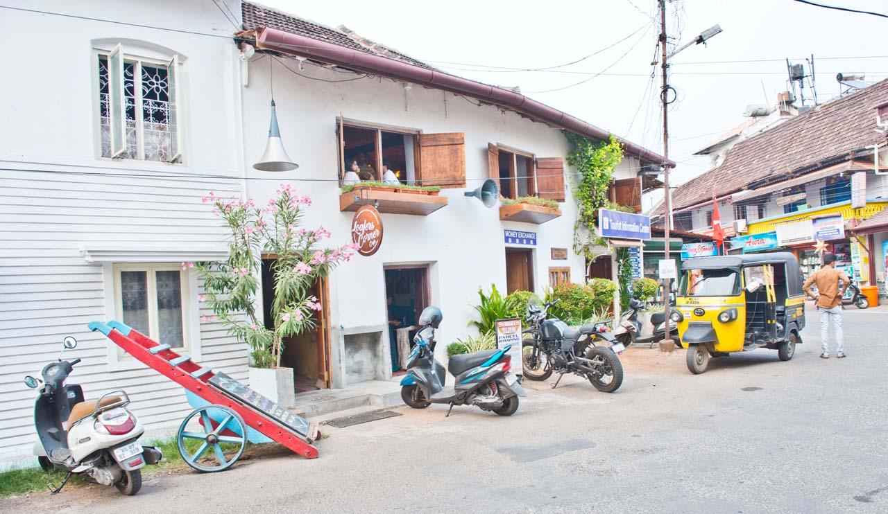 Walking in Fort Kochi