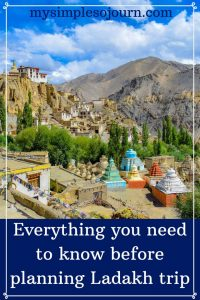 Things to know before planning Leh and Ladakh trip - Safety, climate & packing tips