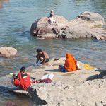 Betwa river in Orccha Madhya Pradesh