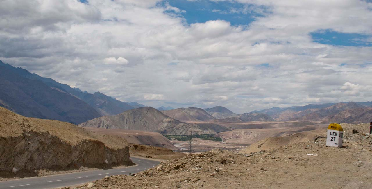 From Zanksar river to Leh