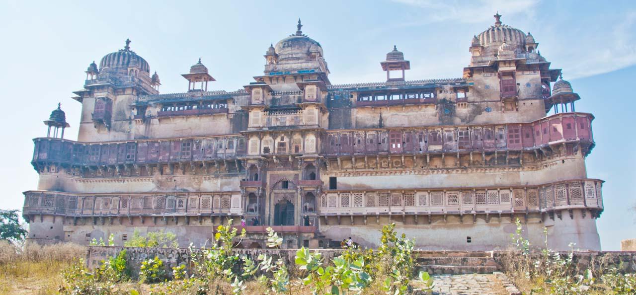 Jahangir Mahal Orccha fort complex