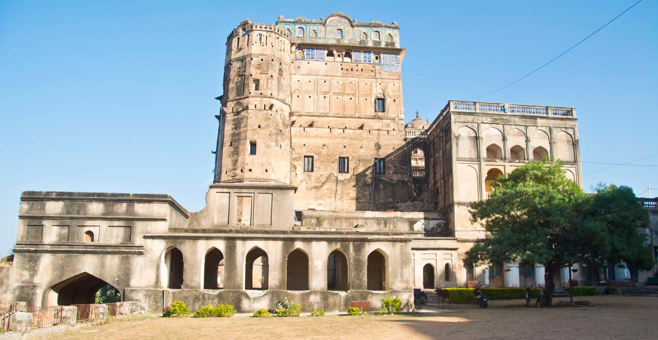 Orchha Fort near entry gate