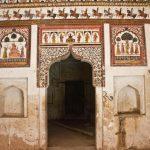 Murals in Raja Mahal Orccha fort