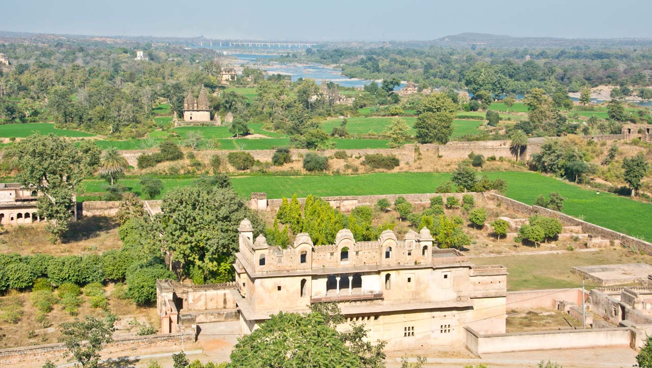 Parveen Rai Orccha fort complex