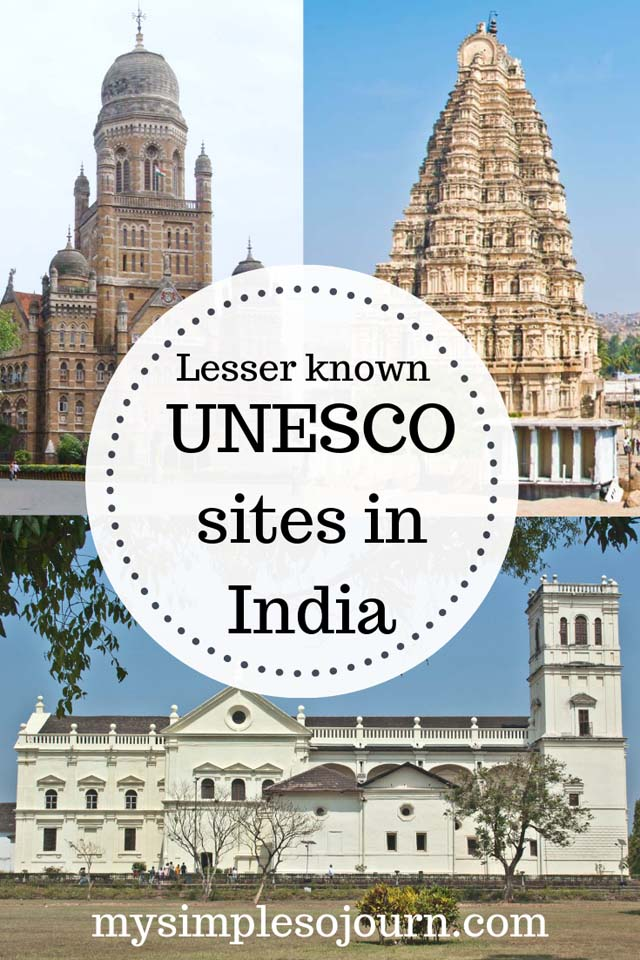The lesser known must visit UNESCO sites in India