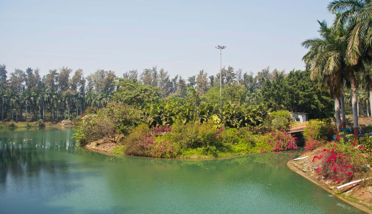 Lake garden Daman