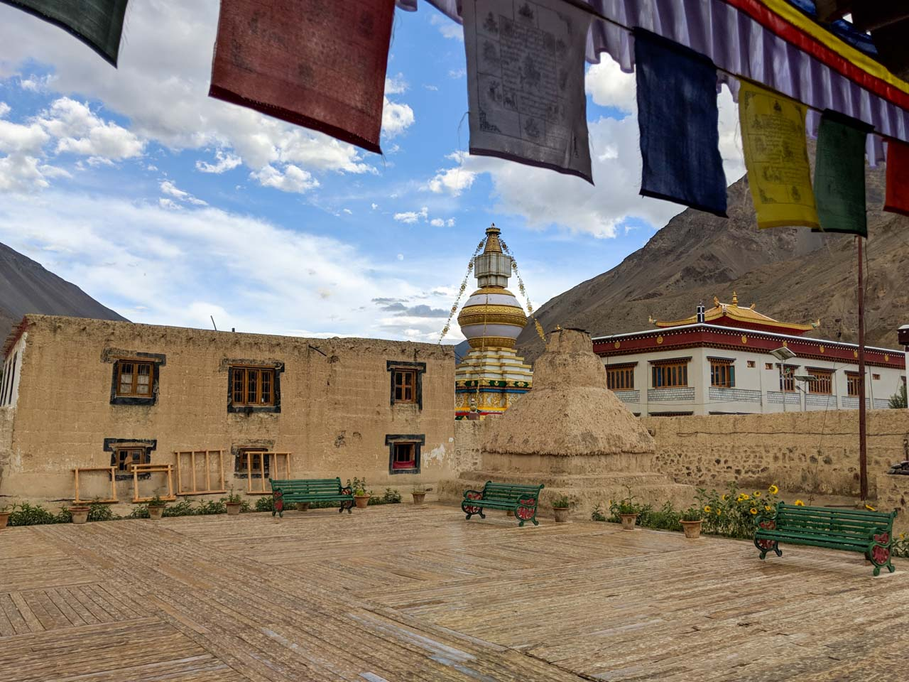 Tabo Monastery in Spiti Valley
