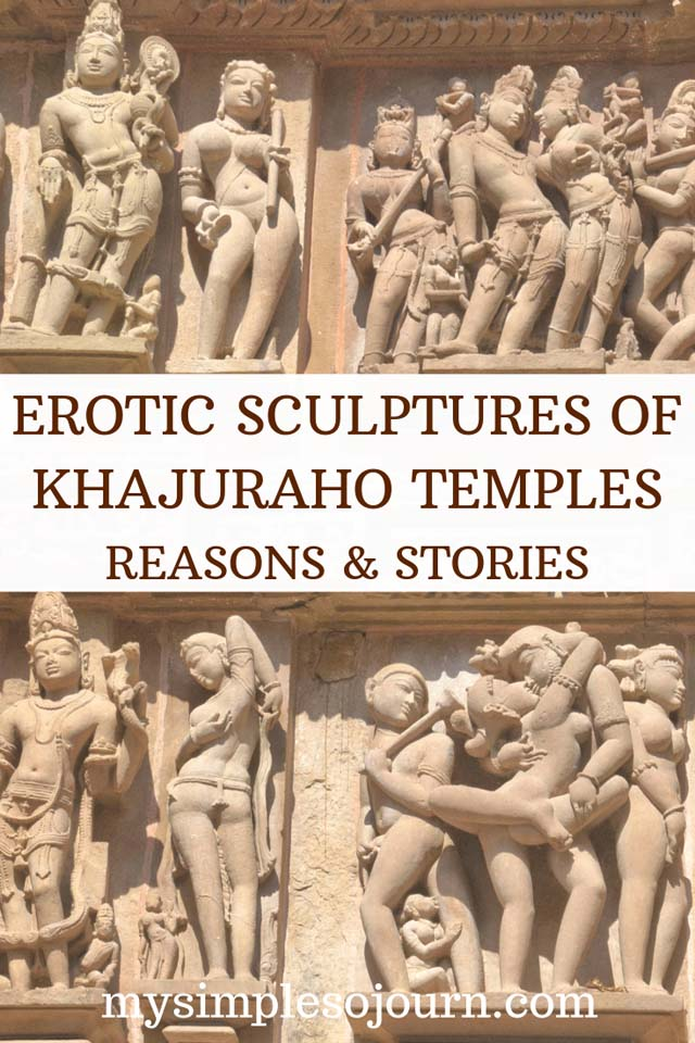 Understanding the sculptures of Khajuraho temples