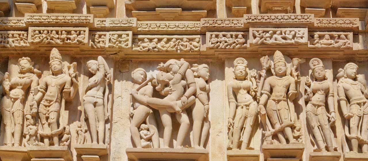 Understanding the sculptures of Khajuraho temples
